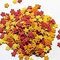 50g Zucker Sterne bunt - Zuckersterne von Madavanilla auf Gewürze Shop