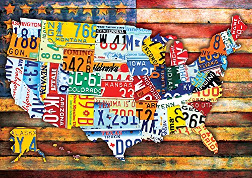 Buffalo Games 300pc Large Piece: Road Trip USA - 300 Piece Jigsaw Puzzle by Buffalo Games