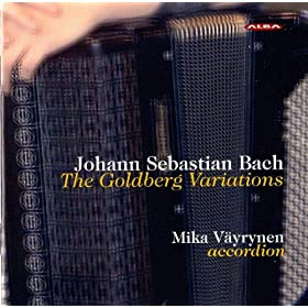 Goldberg Variations, BWV 988 (arr. for accordion): Variation 19