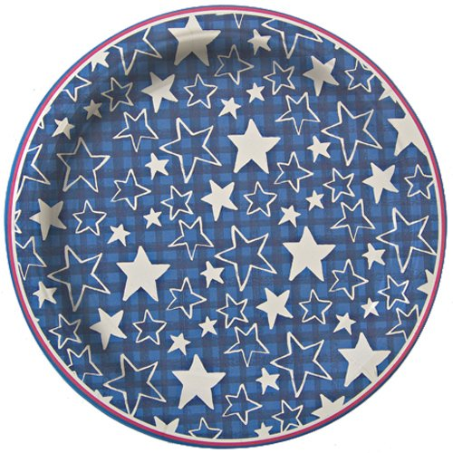 Pack of 12 plates Perfect for an american themed party Coordinates with meri meri stars and stripes party range Designed in England ...  sc 1 st  Fourth Of July Wikii & Fourth of July Party Plates | Fourth Of July Wikii