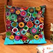 PrimeKey Novelty Bright 18\'\' Beautiful Flower Patterns Style Tree Floral Pillow Case Decor Cute Beautiful Comfortable