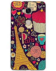 Hugo Huawei Honor 5x Back Cover Hard Case Printed Designer Multicolour