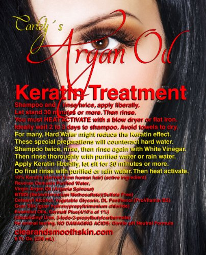 Carley'S Keratin Treatment With Argan Oil