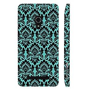 Asus Zenfone 5 Blue Motive designer mobile hard shell case by Enthopia