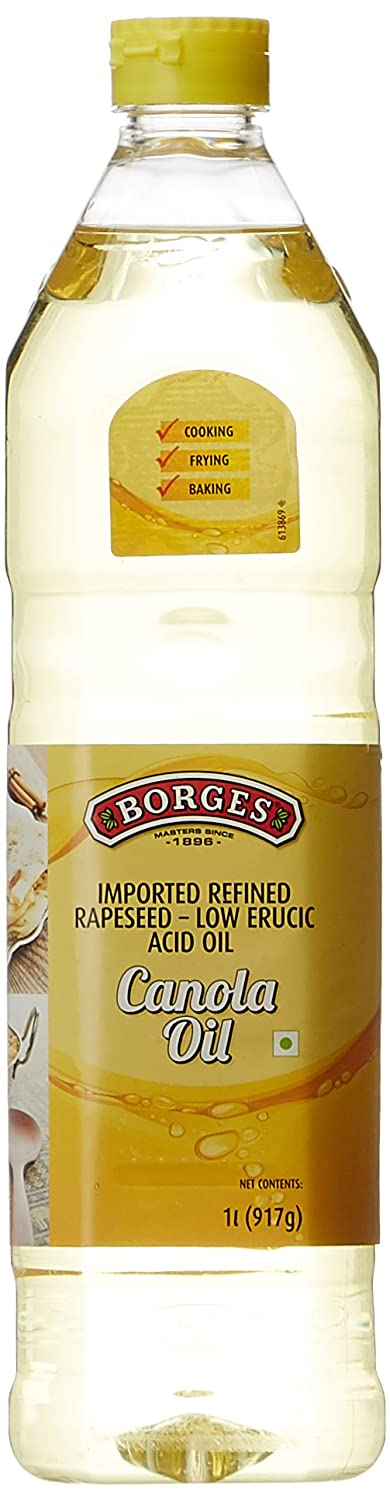 Flat 50% Off Or More On Cooking Oil By Amazon | Borges Canola Oil, 1L @ Rs.199