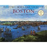 Historic Maps and Views of Boston: 24 Frameable Maps and Views