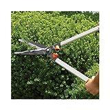 A.M. Leonard Wavy Blade Hedge Shear - 9.5 Inch Blade, 23 Inch Length