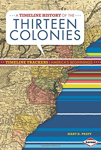 A Timeline History of the Thirteen Colonies (Timeline Trackers: America's Beginnings)