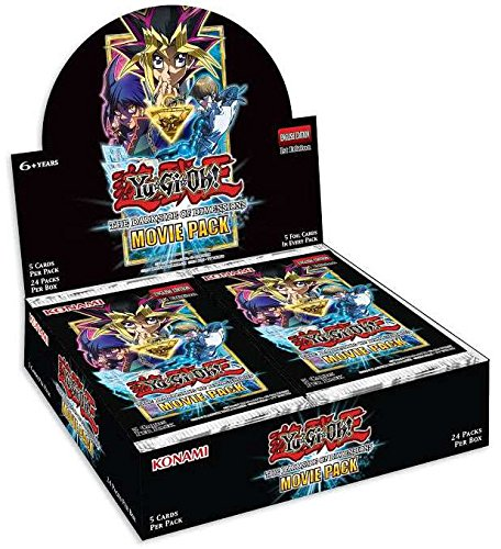 Konami Yu-Gi-Oh! The Dark Side of Dimensions: Movie Pack Box (Yugioh Display Case compare prices)