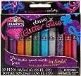 Elmer's 3D Washable Glitter Pens, Classic Rainbow and Glitter Colors, Pack of 10 Pens (E199)