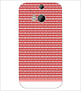 HTC ONE M8 S PATTERN Designer Back Cover Case By PRINTSWAG