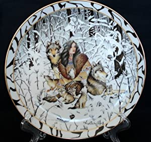 """""""Native Harmony"""" By Diana Casey Collector Plate"""