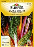 Burpee 54736 Swiss Chard Bright Lights Seed Packet