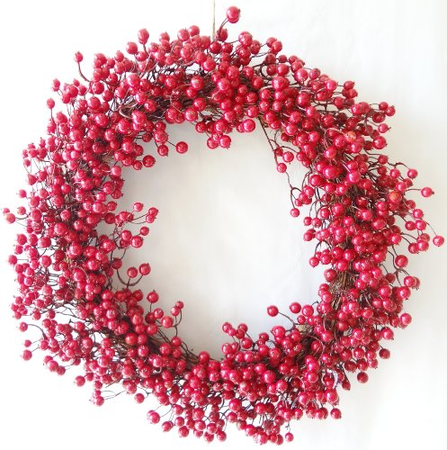 30 inches Christmas Red Berry Wreath
