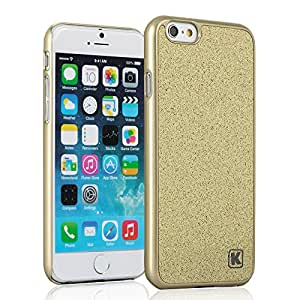 iPhone 6 Case - KAYSCASE Slim Hard Shell Cover Case for Apple iPhone 6, iPhone Air 4.7 inch 2014 Version (Lifetime Warranty) (Glamour Gold)