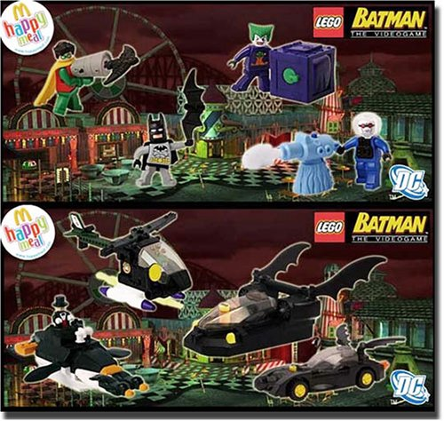 Buy Low Price McFarlane 2008 McDonalds Lego Batman: Video Game Figures Set of 8 (B001I3CNXA)