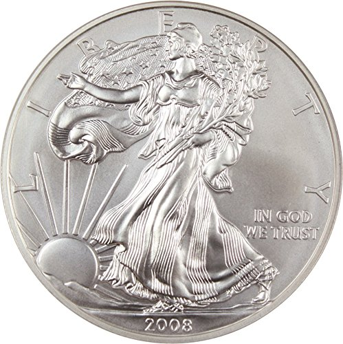 2008 W $1 American Eagles - Silver Silver Eagle Reverse of 2007 Dollar MS70 NGC