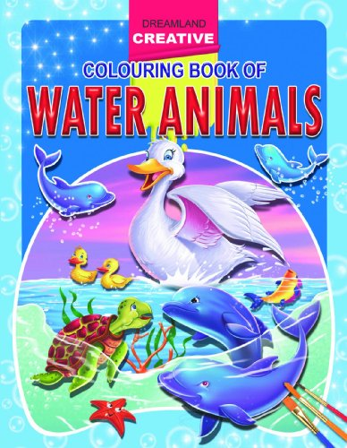 Water Animals (Creative Colouring Books) Image
