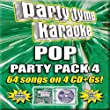 Party Tyme Karaoke: Pop Party Pack 4
