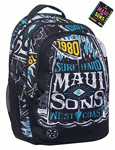 MAUI & SONS - ZAINO MULTITASCHE W.COAST - 339-85031