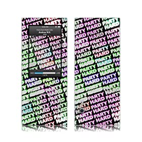 Music Skins iPod nano 5th(��5����)�p�t�B����  Andrew WK - Party Hard Multi Color  iPod nano 5th(��5����)   MSRKIPN50426