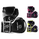 ESSENTIAL BOXING GLOVES SILVER 8-OZ