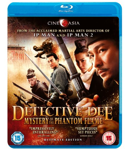Detective Dee Mystery of the Phantom Flame [Blu-ray]