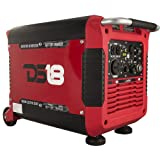 DS18 DG3000I Super Quiet Portable Power Inverter Generator for Home Backup - 2800 Rated Watts and 3000 Surge Watts at 120-Volt - Gas Powered