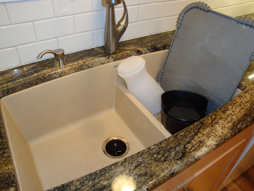 Blanco 441311 Performa 1.75 Medium Bowl Sink, Biscuit - Double Bowl ...