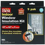 Do it Best Heat Shrink Film Window Kit-9PK SHRINK WINDOW KIT