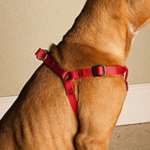 Majestic Pet 25-Inch by 40-Inch Step In Pet Harness for Dogs, X-Large, Red