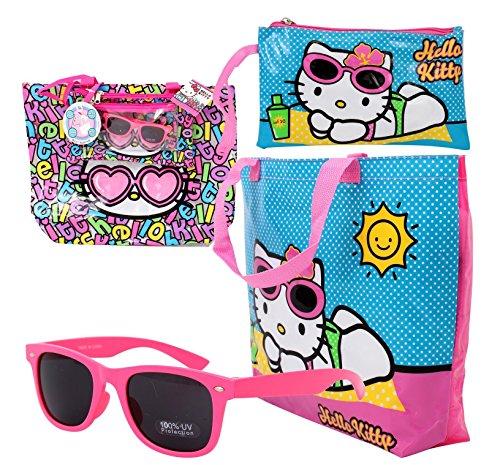 Sanrio-Hello-Kitty-4-in-1-Beach-Tote-Set
