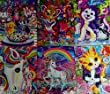 Lisa Frank Sparkle Two-Pocket File Folders (Assorted, Styles & Quantities Vary)