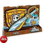 OUAPS Soft Warriors - Spada e scudo da pirata