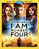 I Am Number Four (3-Disc Combo Pack) [Blu-ray + DVD + Digital Copy]