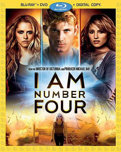 Cover art for  I Am Number Four (Three-Disc Blu-ray/DVD Combo + Digital Copy)