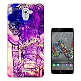 002910 - Out Of This World Galaxy Elephant Design Wiko U