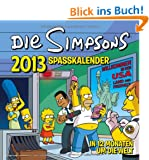 Simpsons Wandkalender 2013: The Simpsons Spa�kalender 2013