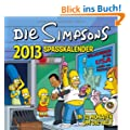 Simpsons Wandkalender 2013: Spa�kalender