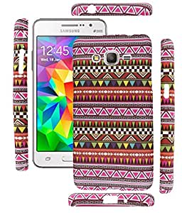 FUSON PREMIUM TRIBAL AZITEC DESIGNER SILICON BACK CASE COVER FOR SAMSUNG GALAXY PRIME G530H (D4)