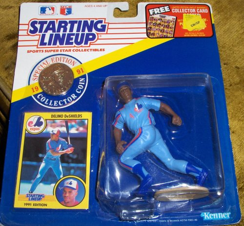 Delino DeShields 1991 MLB Starting Lineup [Toy] - 1
