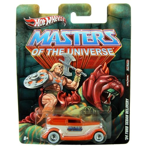 Hot Wheels Masters Of The Universe 1:64 Scale Diecast Car: '34 Ford Sedan Delivery - 1