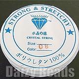 【★透明ゴム『水晶の線』★】 長さ約5m 太さ1.0mm ポリウレタン100%