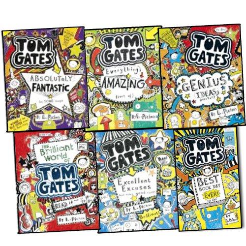 liz-pichon-tom-gates-6-books-collection-set-pack-rrp-3595-genius-ideas-eve