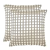 16'x16' Horizion Set Of 2 Cushion Covers - @home Nilkamal - B00UL44RAE