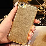 Go Crazzy Luxury Flip Case Cover For Apple iPhone 6 (Golden)