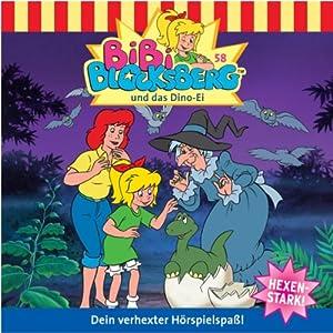 Bibi und das Dino-Ei (Bibi Blocksberg 58) Hörspiel