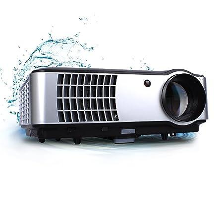 GIZGA® LED Projecteur Full HD Vidéoprojecteur 2800 Lumens Home Cinéma 1080P Projecteur Vidéo Supporte TV Vidéo Jeux PS3 - Noir