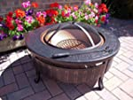 Round Patio Fire Pit Decking Firepit...