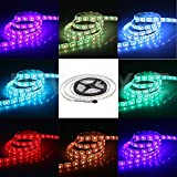 NEWSTYLE 16.4FT 5M SMD 5050 Water-resistant 150LEDs RGB Flexible LED Strip Light Lamp
